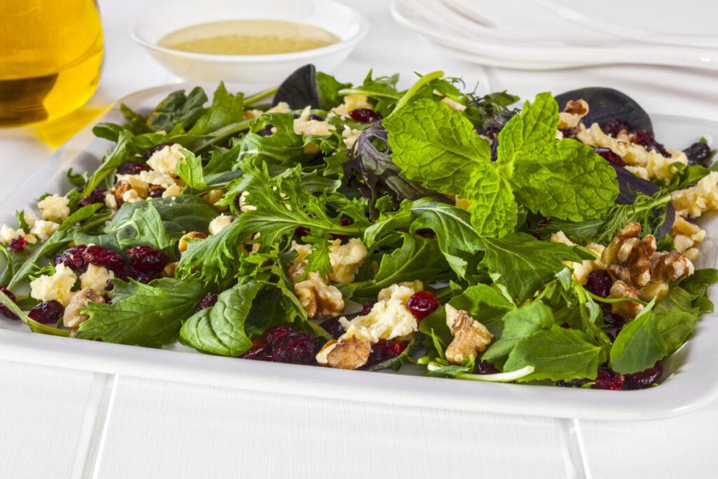 arugula cranberry salad
